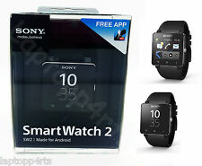 Genuine Sony SmartWatch 2 Bluetooth One Touch NFC SW2  All Android Phones Black