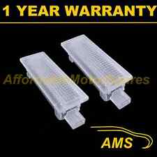 2X FOR BMW 1 SERIES E81 E87 18 LED FOOTWELL BOOT DOOR COURTESY GLOVE BOX LAMP