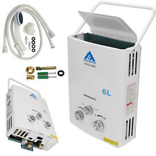 Home 6L Instant Portable Propane LP Gas Tankless Hot Water Heater Boiler New
