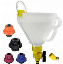 Radiator Refill Funnel with Adapters - Universal Coolant Filling Kit - CTA 7088