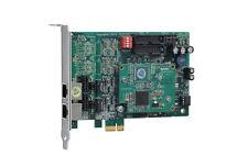 OpenVox BE200E 2 Port ISDN BRI PCI-E card + EC4004 module - Ethernet (RJ-45)