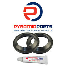 Pyramid Parts Fork Dust Seals for: Honda TLR200 D/E/G/H (35mm forks) 83-86