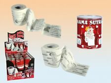 Kama Sutra Toilet Paper Loo Roll Hen Stag Party Naughty Sexy Adult Stocking Gift
