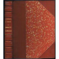 CARUSO Enrico sa Vie sa Mort LETTRES de Dorothy CARUSO His life and Death 1952