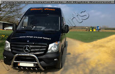 MERCEDES SPRINTER AXLE BULL BAR , A-BAR FOR 2014+ UP  , CHROME  60MM DIA.-  IST