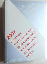 LA GUIDA d'ITALIA 1999 - risoranti Trattorie - .. omaggio SIGMA TAU 806 pagine