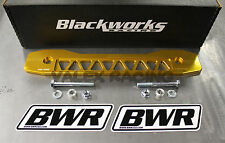 Blackworks BWR Rear Subframe Brace 06-14 Honda Civic Gold FG FA FB