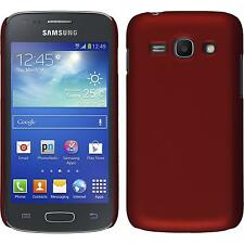 Hardcase Samsung Galaxy Ace 3 - rubberized red + protective foils