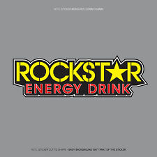 SKU1138 - Rockstar Energy Drink Sticker Decal - 220mm x 68mm