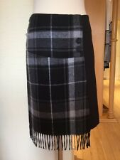 James Lakeland Skirt Size 14 BNWT Black Grey RRP £120 Now £39
