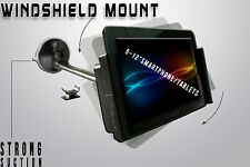 Car Windshield Tablet Smartphone Mount Holder for iPad Galaxy Tab Kindle Nexus