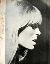 "Andy Warhol, ""NICO"" Hand signed in Red pen 1966 w/Authenticity"