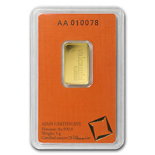 5 gram Valcambi Gold Bar - In Assay - SKU #77422