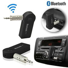 Bluetooth Music Audio Stereo Adapter Receiver for Car AUX IN Home Speaker MP3 F7