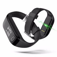 Smart Bracelet Watch Heart Rate Monitor Bluetooth Wristband For Phone US ST