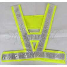 Fashion  Guard Hi Vi Vest High Visibility Reflective Bands & Brace Stripe Gear Z