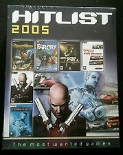 Hitlist 2005 - Far Cry. Deus Ex, Hitman, Toca - BIG BOX - PC - NEW SEALED