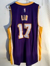 Adidas Swingman NBA Jersey Los Angeles Lakers Jeremy Lin Purple sz S