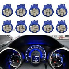 10x 194 T10 W5W Instrument Panel Cluster Blue led Light Bulb Dashboard For BMW