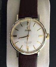 OMEGA  1964 Seamaster De Ville Cal.550 - Gold Bezel, Crown & Lugs/Stainless Case