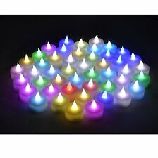 Instapark LCL-C48 Flameless LED Tea Light Tealight Candle Candles 4 Dozen Pack