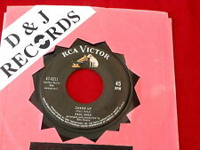 PAUL ANKA~ CHEER UP~ IN DEMAND~ VG++~FROM ROCKING HORSE TO ROCKING ~ TEEN 45