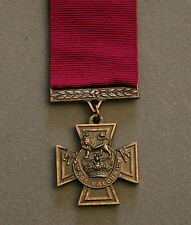VICTORIA CROSS; HIGHEST BRITISH DECORATION FOR MILITARY VALOR