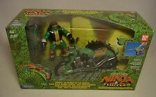 90s BAD BOY BIKER RAPH Toy 1997 Ninja Turtles RAPHAEL Action - Figur OVP