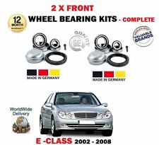 FOR MERCEDES W211 E55 E63 AMG MODELS 2002-2008 NEW 2 X FRONT WHEEL BEARING KITS