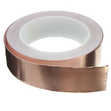 30mmx20m Adhesive Copper Foil Tape EMI Shielding Guitar Slug and Snail Barrier
