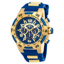 Invicta Speedway Chronograph Blue Dial Mens Watch 24232