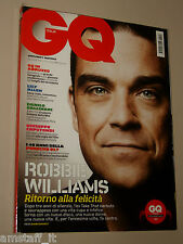 ROBBIE WILLIAMS cover MAGAZINE GQ 2009=LILY ALLEN=PORSCHE 917=GALLINARI DANILO=