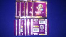10 UNOPENED STICKER PACKS UEFA EURO 2012 POLAND-UKRAINE PANINI
