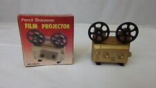 Antique Finished Die-Cast Miniature Pencil Sharpener Film Projector NOS