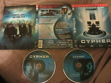Cypher de Natali Vincenzo avec Jeremy Northam, collector 2DVD, SF/Thriller