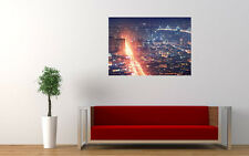 SAN FRANCISCO CITY NIGHT LIGHTS NEW GIANT LARGE ART PRINT POSTER PICTURE WALL