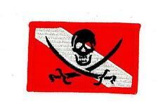 Patch patches flag embroidered iron on skull scuba diver diving backpack