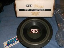 "OLD SCHOOL MTX RT 84 SUB!!  8"" ROAD THUNDER SUBWOOFER!!  NEW RARE USA MADE RT84"