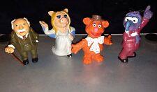 Muppets VINTAGE Schleich PVC figure lot of 4 Fozzie Gonzo Piggy Waldorf 1978