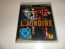 PlayStation 3  PS 3  L.A. Noire - The Complete Edition