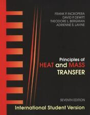 Principles of Heat and Mass Transfer: International Student Version 7th seventh