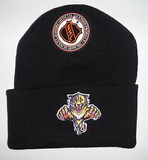 Florida Panthers Vintage authentic Beanie/Toque NWT Knit hat Logo 7 Rare !