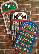Patch Press Holiday Sewing Pattern CHRISTMAS ADVENT CALENDAR Fast & Easy to make