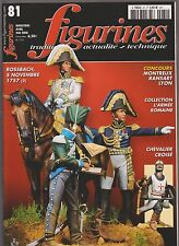 FIGURINES N°81 3e HUSSARDS 1780-1914 / CHEVALIER CROISE / BOUDICCA / POILU