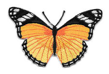 Butterfly - Monarch Butterfly - Insect - Embroidered Iron On Applique Patch