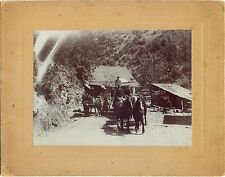 Photo of the Stage Coach coming to Foresthill, California
