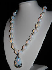 "Única Moonstone opalite Hecho A Mano One Of A Kind Collar 20 "" @ Jay Wolfe"
