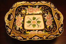 Noritake Morimura c1920s 2 handles bowl multicolor decorations[12b]