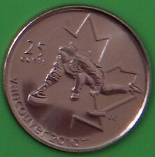 2007 Canada Curling 25 Cents One of Winter Games 2010 Series From Mint Roll