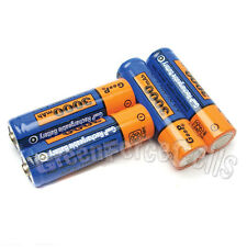 4 x AA LR6 2A 1.2V 3000mAh NiMH Rechargeable Battery Cell GODP Blue Orange